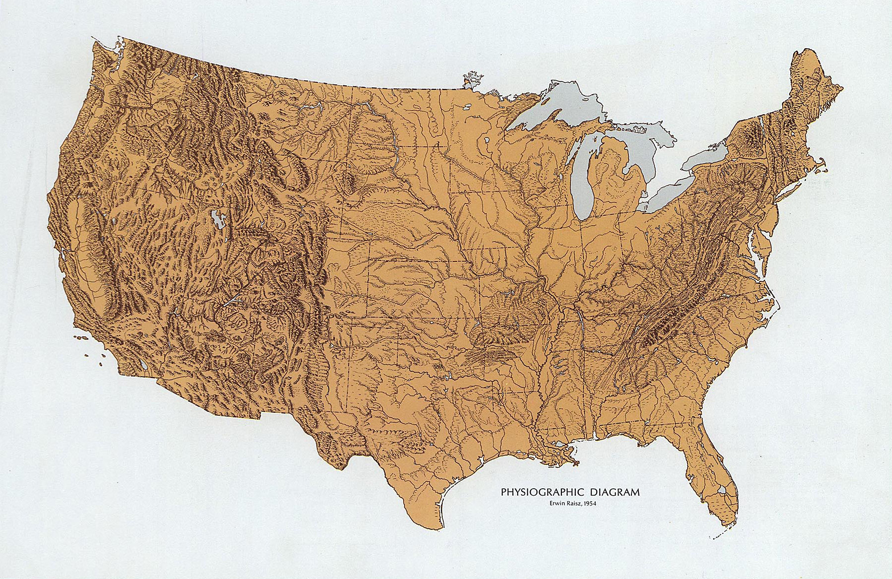 united states landforms untitled document dividing the us into