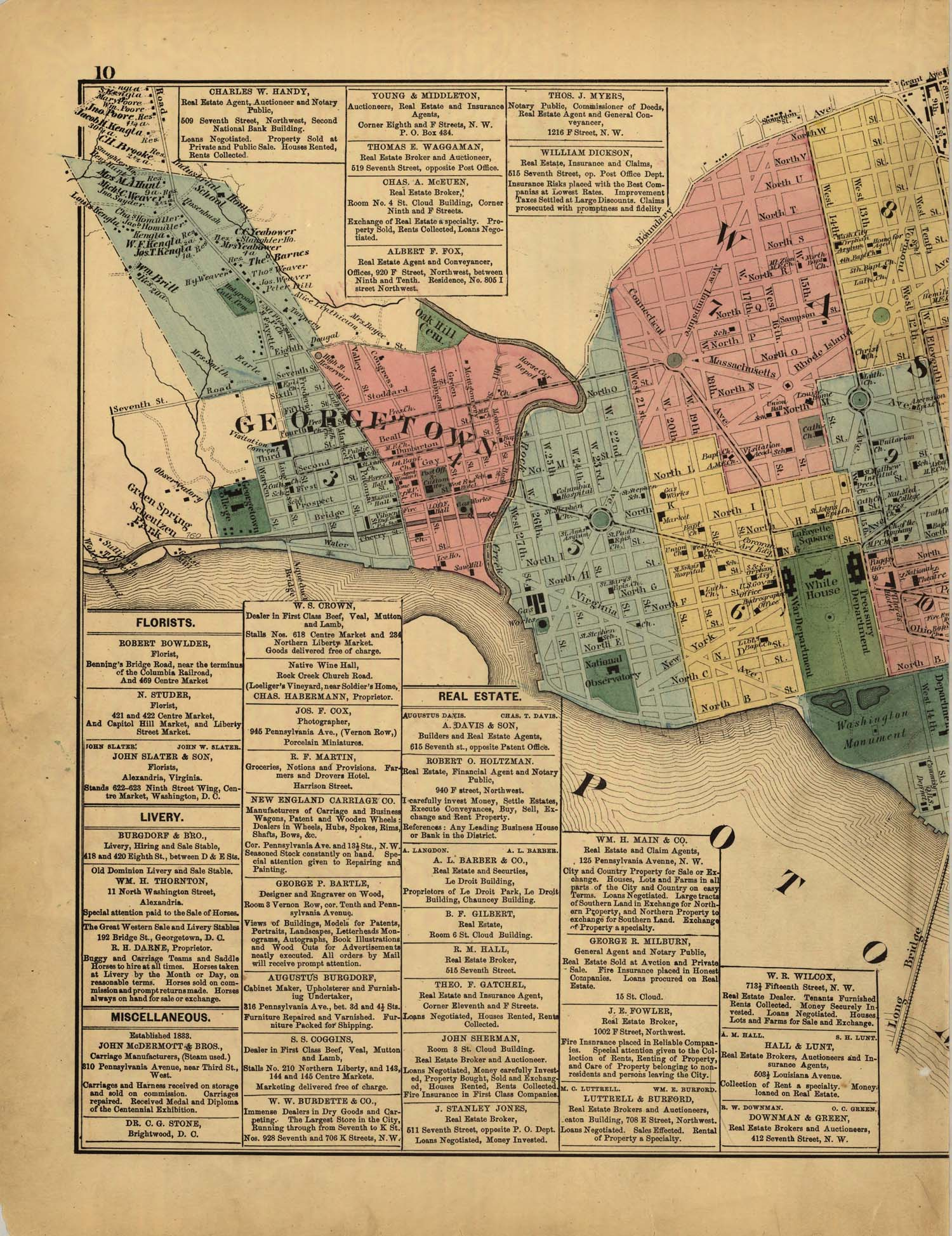 the g m hopkins company maps