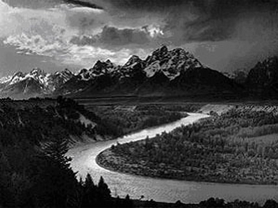 ansel adams photography. Snake River by Ansel Adams