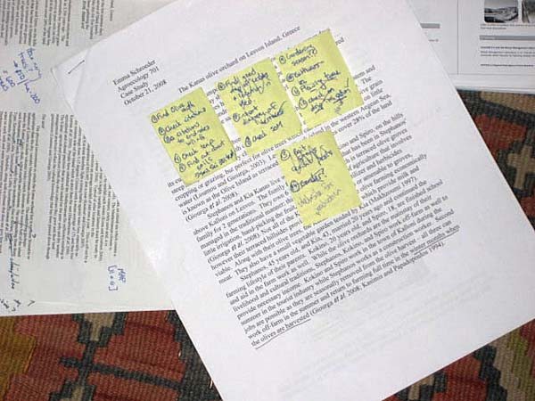 Examples Of Taking Notes For Research Paper